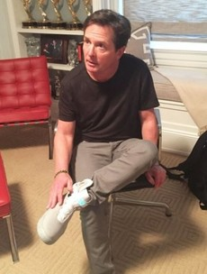 Nike is bringing out real self-lacing runners, and Michael J Fox got the first pair
