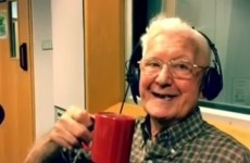 A 95-year-old man called a radio show because he was lonely - so they invited him on