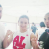 Jose Aldo gives Aisling Daly's opponent advice on dealing with the Irish crowd