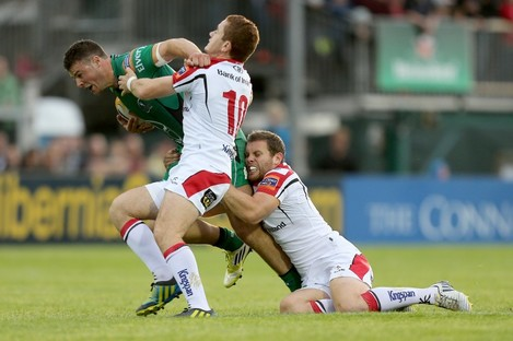 Darren Cave and Paddy Jackson return to the Ulster squad.