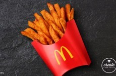 McDonald's are trialling sweet potato fries, so get excited