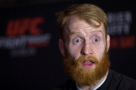 Paddy Holohan speaking to the media today at the 3Arena.