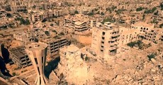 WATCH: First drone video shows devastation of war in Syria