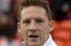 Celtic's Kris Commons laid into his coach after being substituted tonight