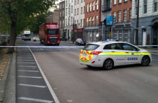 Man in serious condition after being hit by truck on Merchants Quay