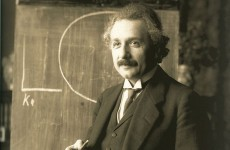 Albert Einstein's childhood nickname was 'the dopey one'