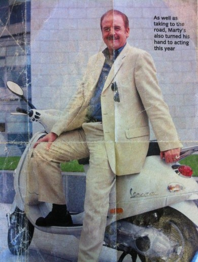 We asked Marty Whelan to explain this photo