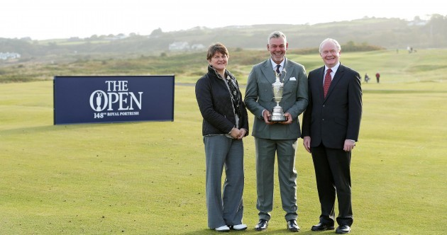 'We're proud to be representing the island of Ireland by hosting the British Open'