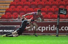 Last-gasp penalty sees Scarlets edge Munster