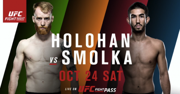 Here's all you need to know to watch UFC Dublin live this evening