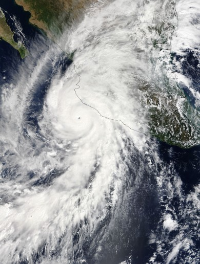 The strongest hurricane ever has made landfall... but it wasn't as bad as expected