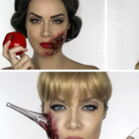 A make-up artist has created amazing 'dead Disney princess' Halloween costumes