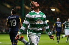 Celtic's Kris Commons apologises for outburst after Delia reprimand
