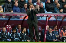 Is it the end of the road for Sherwood as Villa lose again?