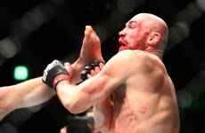 Cathal Pendred suffers first-round defeat at UFC Dublin