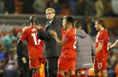 Jürgen Klopp has already fired a stern word of warning to his Liverpool players