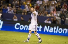 Robbie Keane's 17th goal in 14 games couldn't stop LA Galaxy losing last night
