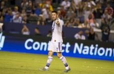 Robbie Keane's 17th goal in 14 games couldn't stop LA Galaxy losing last night