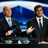 Everyone's favourite draw host is running for Sepp Blatter's job