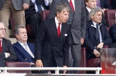 Silent Stan speaks up to offer Wenger his backing