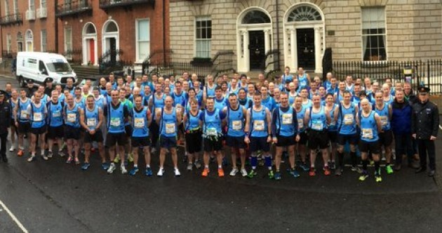 Over 140 Gardaí and PSNI officers ran the Dublin Marathon in memory of Garda Golden