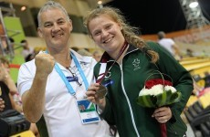 Irish 15-year-old claims silver on Paralympic World Championships debut