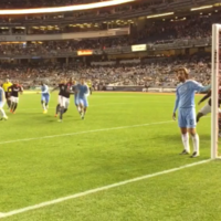 He's magic with the ball at his feet, but Pirlo doesn't do covering the front post