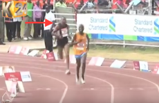 Man joins Kenyan marathon for the final km, finishes second, is arrested