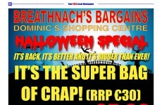 A Tallaght shop has the most Irish Halloween deal ever