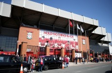 Liverpool's Anfield home evacuated after a man 'goes missing' during stadium tour