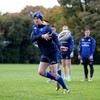 Jonathan Sexton is back training in his favourite shade of blue