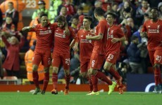 Klopp up and running as Reds progress to Capital One Cup quarter-finals