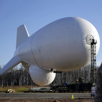 WATCH: An enormous US military blimp broke loose and floated for 140 miles today