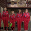 All female Russian space crew asked about not being around men and having no make up