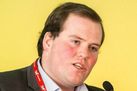 Colm Taylor is the new president of Young Fine Gael