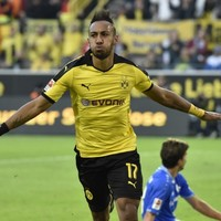 The Bundesliga's joint-top scorer says he can be as good as Ronaldo and Messi