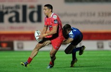 A father and son could play alongside each other in the Pro12 Friday night