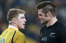 'I always take a moment during the week to realise how lucky I am' - McCaw