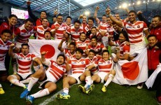 Japan in running with heavyweights for World Rugby team award after tournament heroics