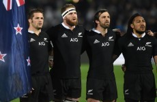 Lynne Cantwell: BOD and D'Arcy had it, All Blacks Nonu and Smith have it too