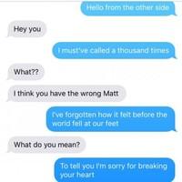A girl thoroughly confused her ex-boyfriend by texting him Adele lyrics