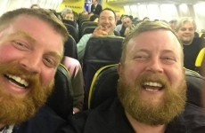 Two men sat next to each other on a flight to Ireland and realised they were doppelgangers