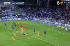 This Sergi Roberto assist for Suarez has people drooling with delight