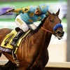 The best racehorse in the world, American Pharoah, did it again this evening