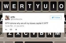 iPhones are now autocorrecting people's kisses and it's mortifying