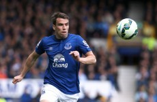 A Lazarus-like recovery for Seamus Coleman as he's fit enough to start for Everton today