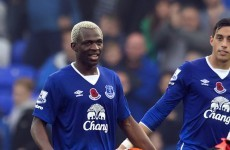 Everton striker Kone given the ultimate reward for his Premier League treble