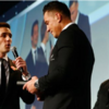 'One gesture of generosity deserves another' - SBW presented with RWC winners' medal