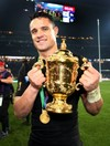 All Black great Dan Carter is World Rugby's Player of the Year for the third time