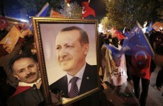 Protests and celebrations as Turkey's ruling party storms to election victory